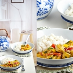 Orientalny kurczak curry ...