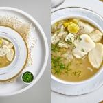 Zupa z dorszem, ryzem i d...