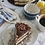 Tort slonecznikowy z kajm...