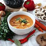 Jesienna zupa węgierska...