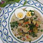 Zupa jarzynowa z jajkiem...