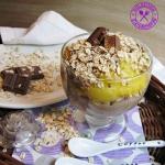 Deser z czekoladowa manna...