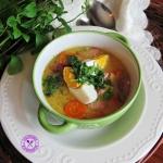 Zupa chrzanowa z jajkiem...