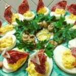 Jajka lodeczki