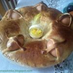 Wielkanocny chlebek neapo...