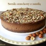 Sernik czekoladowo - orze...