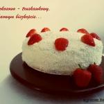 Tort kokosowo - truskawko...