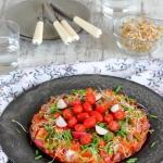 Kolorowy omlet z...