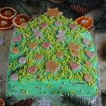 Ciasto choinka z...