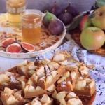 Dyniowy placek z jablkami...