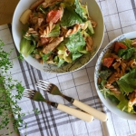 Salatka gyros-kebab z mak...