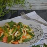 Kalmary z warzywami i...