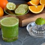 Zielony sok cytrusowy z...