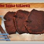 Wilgotna babka kakaowa