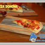 Pizza na domowym cieście