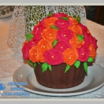 Tort  Różany bukiet ...