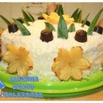 Tort ananasowo kokosowy...