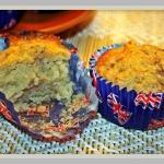 Weganskie muffinki z bana...