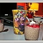 Sago seed pudding -...