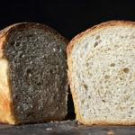 Chleb z semolina, na zakw...