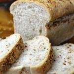 Chleb mieszany z ostropes...
