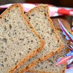 Chleb rzany z czarnuszka,...
