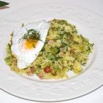 Ryz z brokulem i jajkiem ...