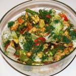 Salatka szparagowa