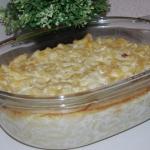 Makaron zapiekany z serem