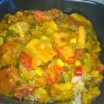 Curry wieprzowe na ostro