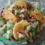 Salatka z pomaranczami w ...