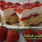 Wykwintne ciasto z truska...