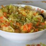 Salatka z marchewka i ana...