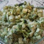 Salatka z brokulami
