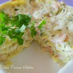 Wiosenne lasagne z...