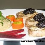 Schab z quinoa z parowaru