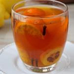 Herbata z mandarynka i pi...