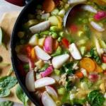 Zupa minestrone z mlodych...