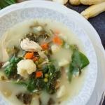 Wiosenna zupa ze szczawie...