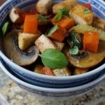 Tofu smazone z warzywami