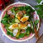 Lekka salatka z jajkiem i...