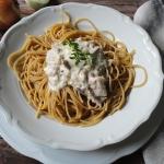 Spaghetti z smietanowym t...