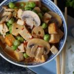 Orientalne tofu z warzywa...