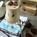 Mrozona kawa z wanilia