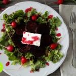 Salatka z karmelizowanymi...