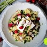 Salatka z kuskusem i feta...