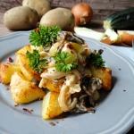 Smazone ziemniaki z kremo...