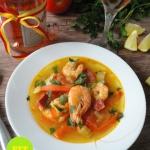 Hiszpanska zupa krewetkow...