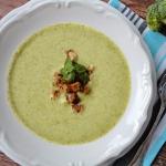 Kremowa zupa z brokulow