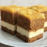 Ciasto miodowe z serem i...